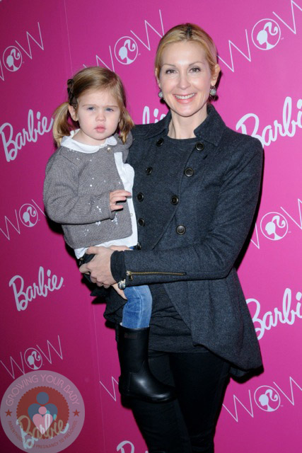 Kelly Rutherford with her daughter Helena Grace Rutherford Giersch at Barbie's closet event