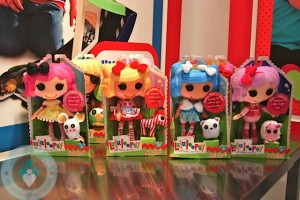 Lalaloopsy 2012 collection - soft dolls