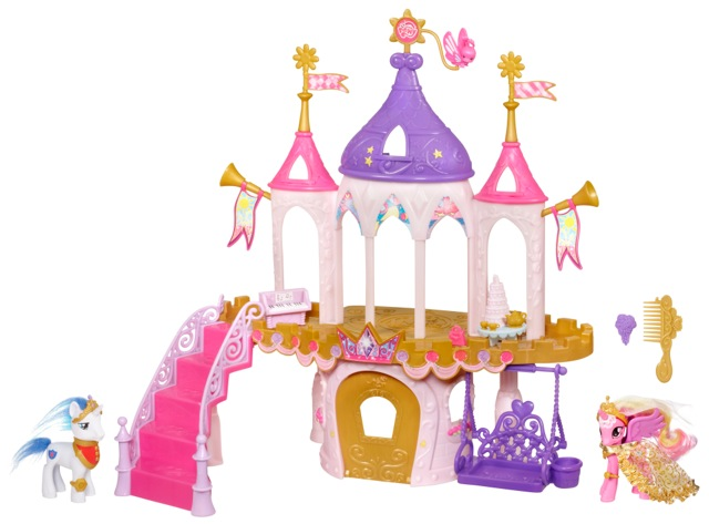 My Little Pony Pony Princess Wedding Castle Playset Growing Your Baby Growing Your