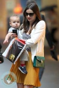 Miranda Kerr and son Flynn in Sydney