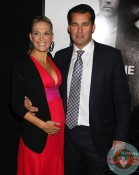 Molly Sims & Scott Stuber On the Red Carpet at The New York Premiere of 'Safe House'