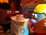 Mr. Potato head birthday party
