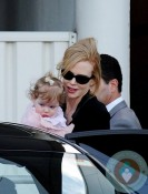 Nicole Kidman and Faith Urban in Sydney
