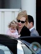 Nicole Kidman and Faith Urban in Sydney