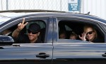 Nicole Kidman and Keith Urban wave to the camera in Sydney