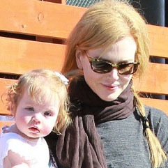 Keith Urban and Nicole Kidman Tote Their Girls To A Party