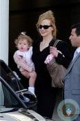 Nicole Kidman & daughter Faith Urban in Sydney