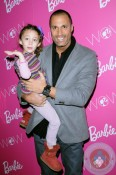 Nigel Barker with daughter Jasmin at Barbies closet event