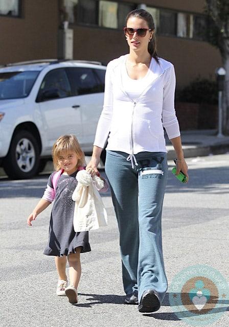Pregnant Alessandra Ambrosio Runs Errands In La