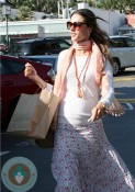 Pregnant Alessandra Ambrosioout shopping in LA - 3