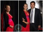 Pregnant Molly Sims On The Red Carpet at The New York Premiere of 'Safe House'