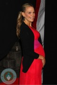 Pregnant Molly Sims at The New York Premiere of 'Safe House'