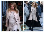Pregnant Sienna Miller on Set Filming 'A Case of You'