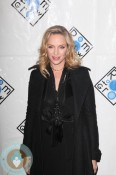 Pregnant Uma Thurman at Room To Grow Event NYC