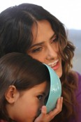 Salma Hayek & daughter Valentina in Got Milk ads