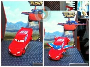 Take flight Lightning McQueen