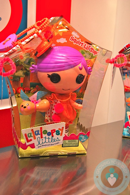 Lalaloopsy Littles 2012 Squirt Lil Top Growing Your Baby