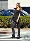 pregnant Alessandra Ambrosio out in LA 2
