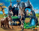 playmobil 2012 Stone Age Cave with Mammoth