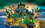 playmobil 2012 Pirate Adventure Island