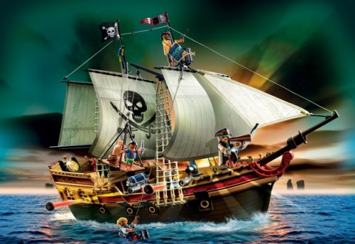 Playmobil 2012 pirate ship
