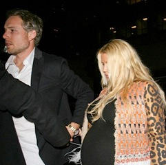 Jessica Simpson & Eric Johnson Enjoy A Night Out At Mr. Chow!