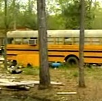Children Found Living in an Abandoned School Bus