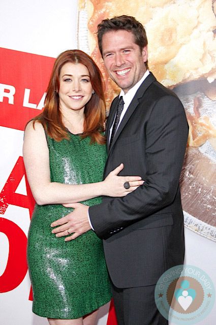 Alyson Hannigan and husband Alexis Denisof at LA Premiere ...