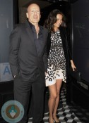 Bruce Willis and pregnant wife Emma Heming out in LA