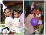 Christina Milian and Violet Nash 2nd birthday