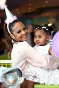 Christina Milian at daughter Violet Nash's 2nd birthday 2