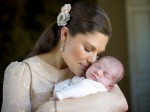 Crown Princess Victoria with princess Estelle