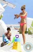 Doutzen Kroes, Phyllon James at the beach Miami