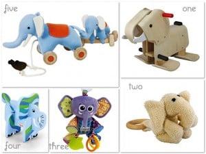 Elephant baby toys