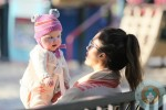 Jessica Alba with daughter Haven @ Coldwater Creek Park