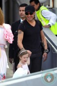 Keith Urban and Sunday Rose in Sydney
