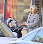 Martha Stewart our with granddaughter Jude in NYC