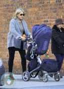 Martha Stewart out for a stroll with grand daughter Jude