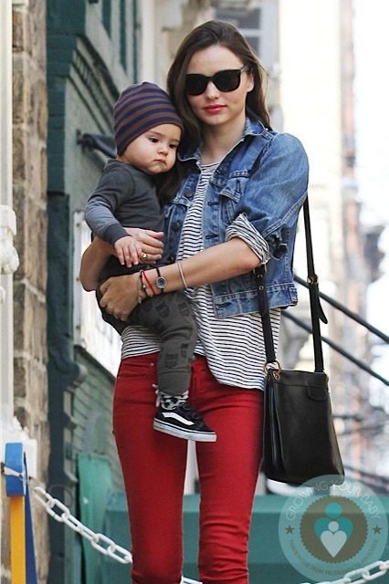 Miranda Kerr And Son Flynn Out In Nyc Growing Your Baby