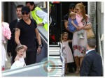 Nicole Kidman and Keith Urban touch down in Sydney