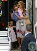 Nicole Kidman and keith Urban in SYdney with their girls