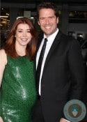 Pregnant Alyson Hannigan, Alexis Denisof @ LA Premiere of American Reunion