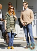 Pregnant Alyson Hannigan and Brad Goreski out in LA