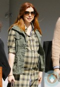 Pregnant Alyson Hannigan shops in LA