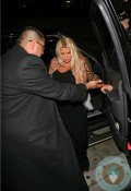 Pregnant Jessica SImpson at Mr