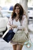 Pregnant Kourtney Kardashian shopping on Robertson