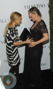 Pregnant Molly Sims Rachel Zoe Red Carpet Valentino 50th Anniversry