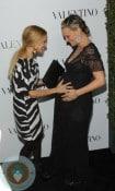 Pregnant Molly Sims Rachel Zoe Red Carpet Valentino 50th Anniversry