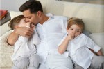 Ricky Martin with sons Valentino and Matteo