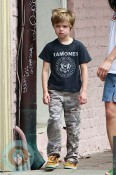 Shiloh Jolie Pitt out in New Orleans